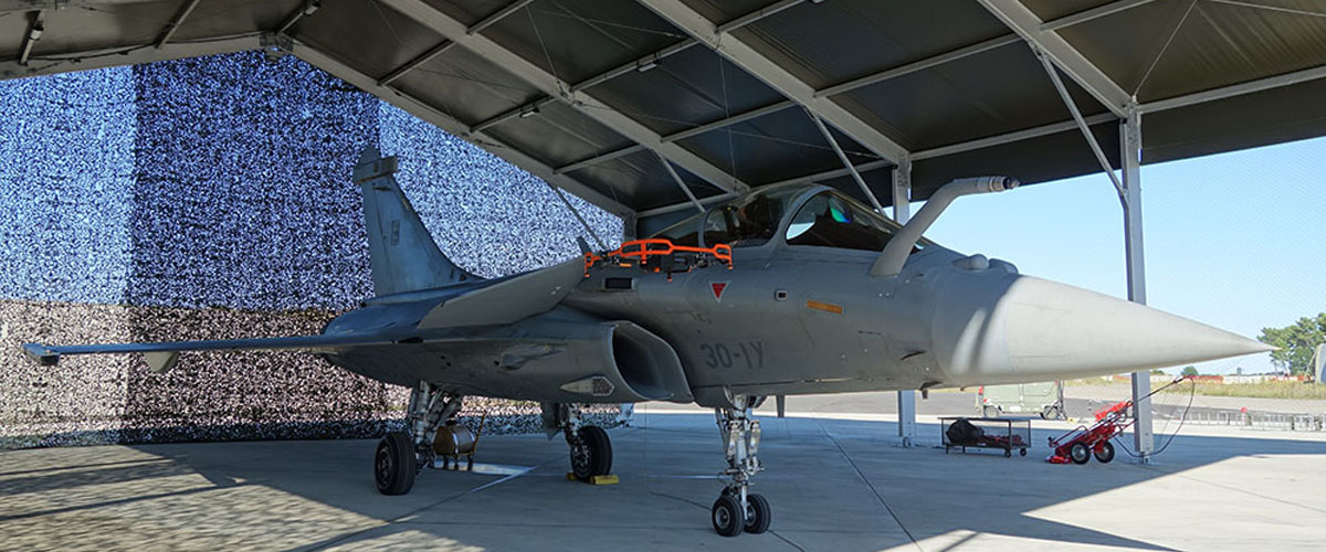 Donecle demonstrates Dassault Rafale inspections