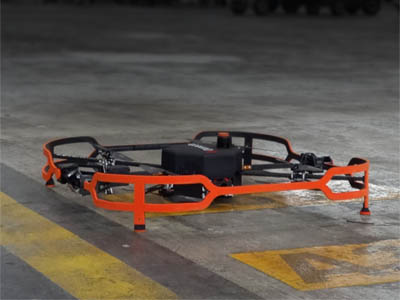 Donecle automated inspection drone for MRO