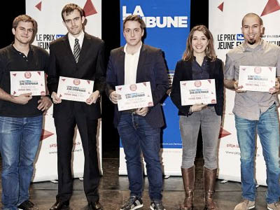 La Tribune award Matthieu Claybrough Donecle