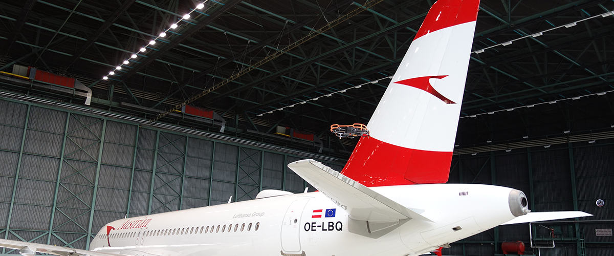 Austrian Airlines using Donecle's automated inspection drone